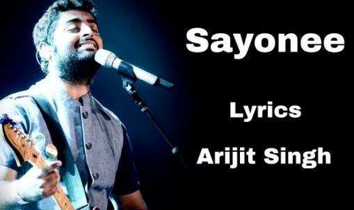 Sayonee Arijit Singh